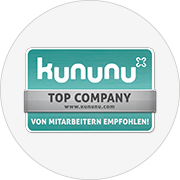 Kununu Siegel Top Company