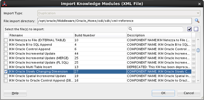 Handling SCD with the Oracle Data Integrator 12 - b telligent